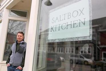 Concord, MA., 04/02/15, The soon-to-open Saltbox Restaurant. Chef/founder Ben Elliott,cq,. For story on the rise of suburban restaurants. Suzanne Kreiter/Globe staff